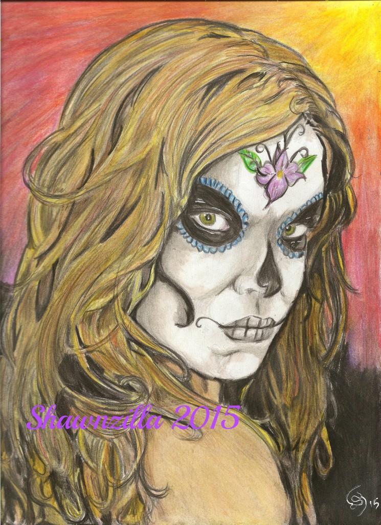 Painting by Shawn Howe - Shawnzilla