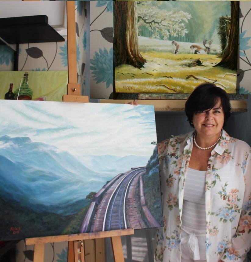 Artist Daisy Klock