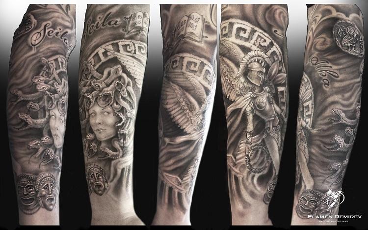 Tattoo artist Plamen Demirev