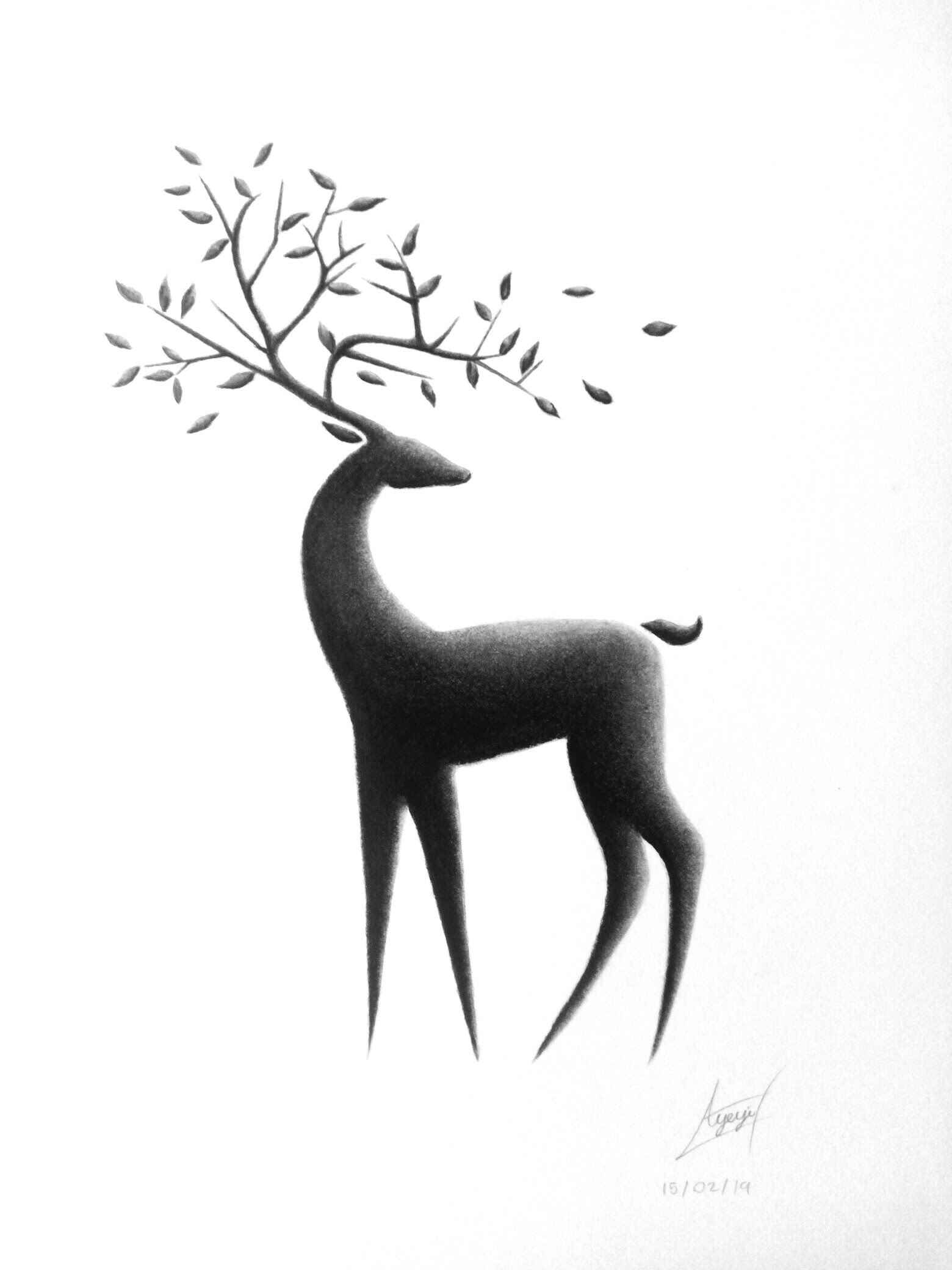 Realistic drawings by Jonathan Nuamah