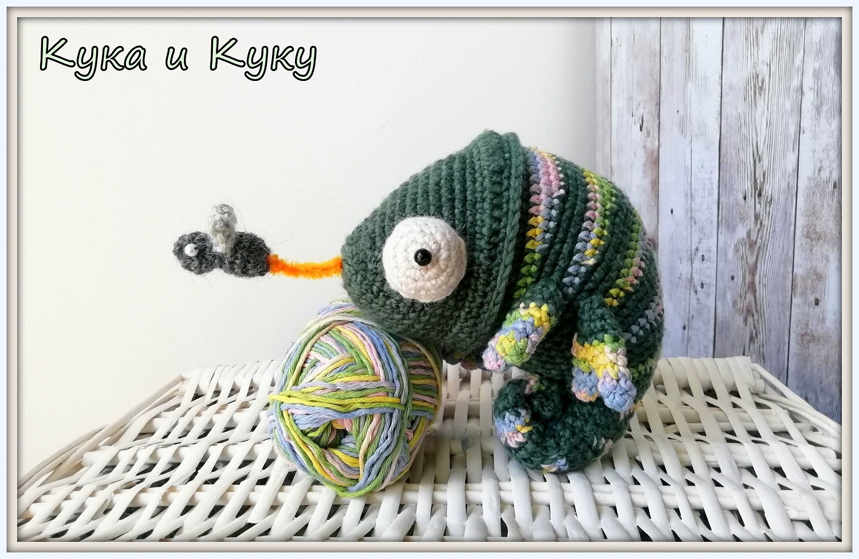Ръчно плетени играчки Кука и Куку